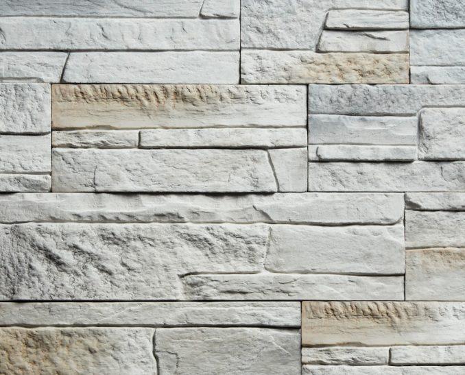 Декоративный камень Сланец классический серый 0,7м2/уп. (15см/23см/37см*по 10шт)