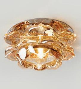 Светильник Ambrella D8188 хром янтарный