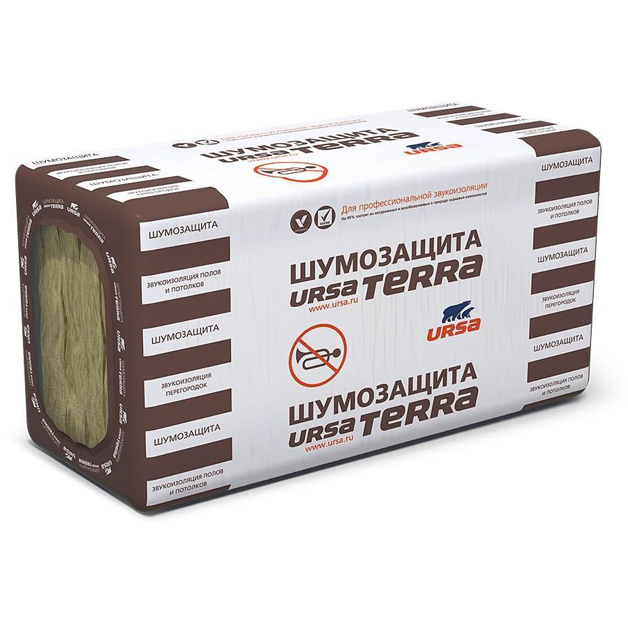 Минеральная вата URSA TERRA 34PN 1250-610-100