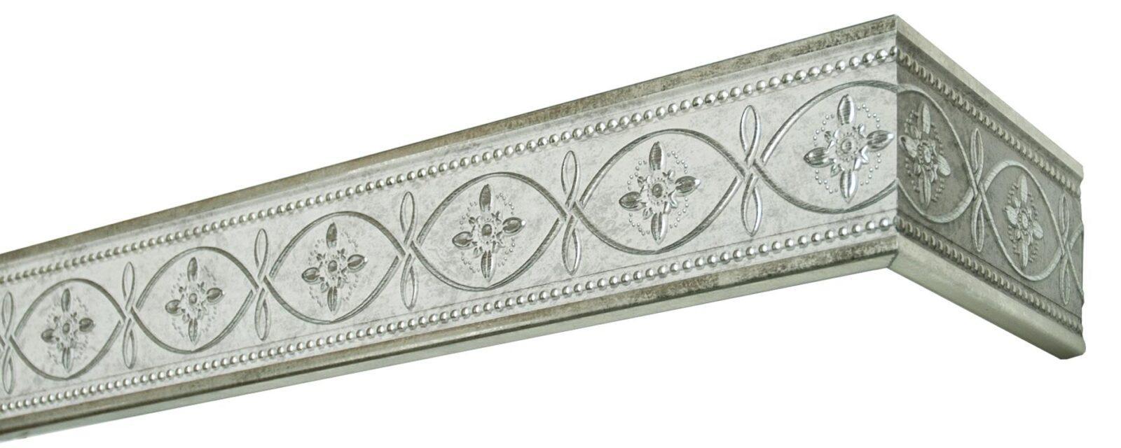 Комплект боковин Унисон античное серебро 80 мм