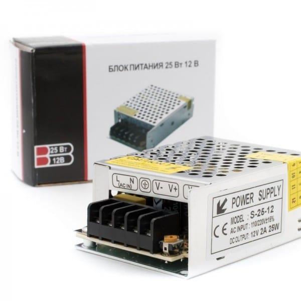 Блок питания SWG сетка 25W 12V
