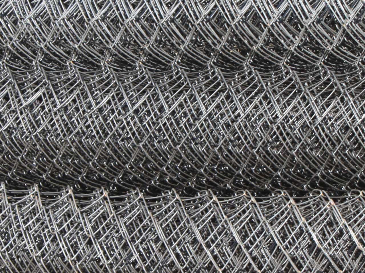 Сетка Рабица оцинкованная d1,6 ячеек, 50х50, 2х10 м