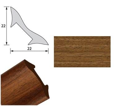 Галтель NL22 Орех 2,7м