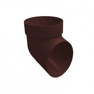 Колено сливное ПВХ Grand Line Стандарт шоколад