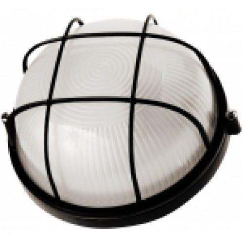Светильник Navigator малый круг с решеткой NBL-R2-60-Е27 черный