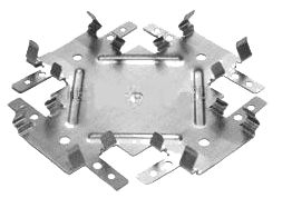 Соединитель одноуровневый (краб) для ПП60*27