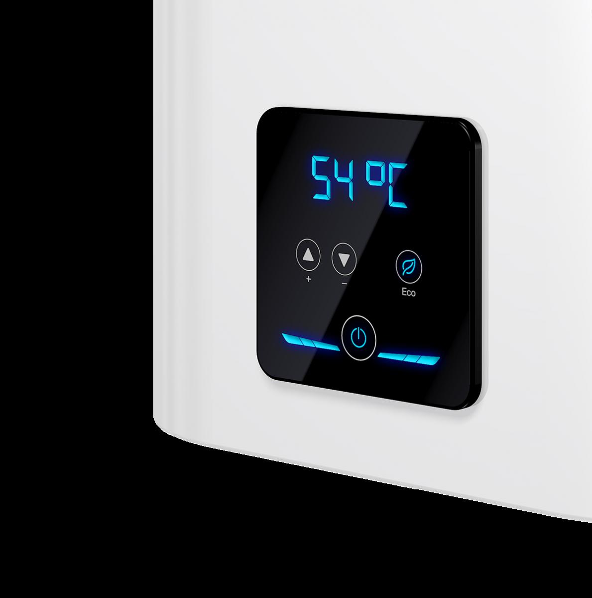 панель управления водонагревателя