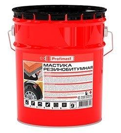 Мастика PROFIMAST резинобитумная 10 л